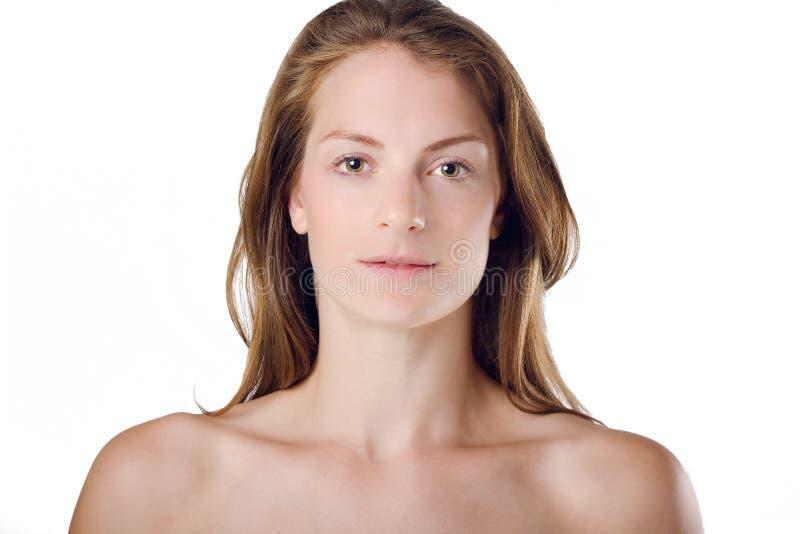 Belleza y salud naturales de la mujer imágenes de archivo libres de regalías