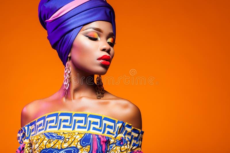 Bellezza africana calda fotografie stock