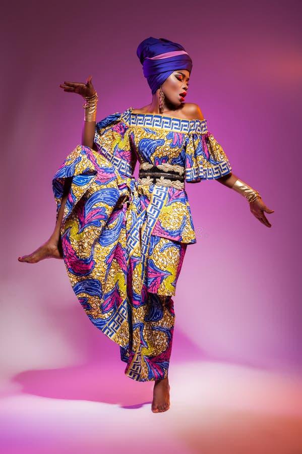 Bellezza africana calda fotografia stock