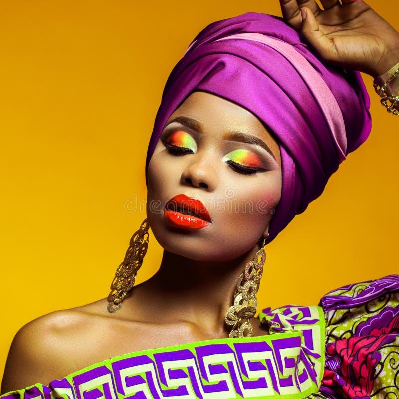 Bellezza africana calda fotografie stock libere da diritti