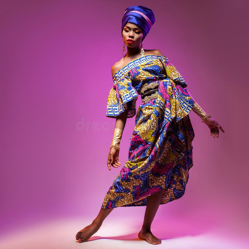 Bellezza africana calda immagini stock libere da diritti