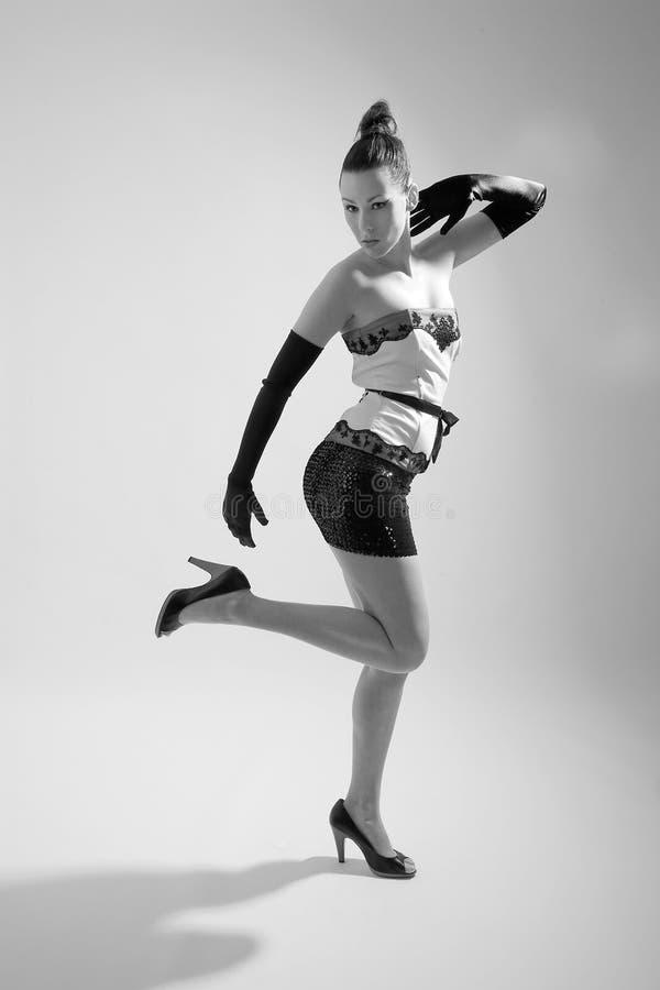 Bellezza alla moda fotografia stock libera da diritti