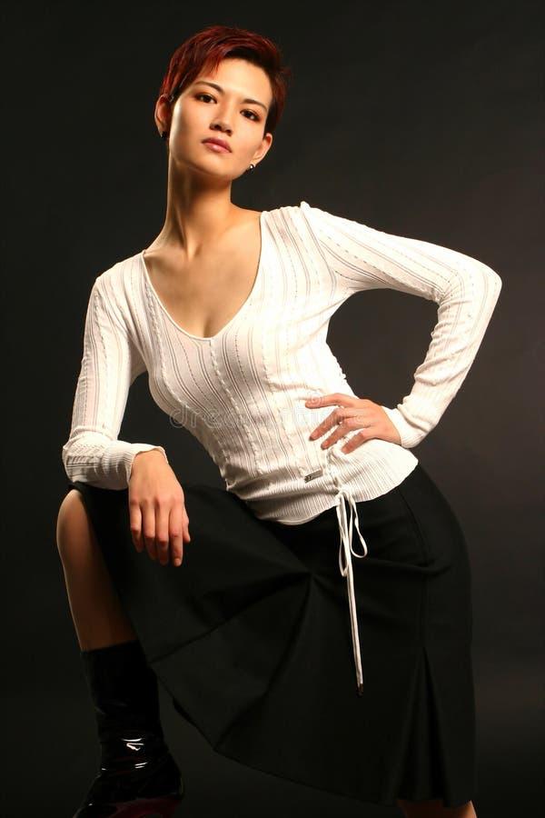 Bellezza asiatica fotografie stock