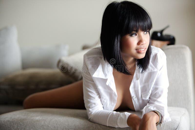 Bellezza asiatica immagini stock libere da diritti