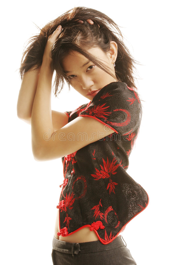 Bellezza asiatica immagine stock
