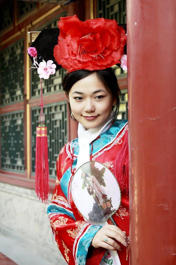 Bellezza classica in Cina. fotografie stock
