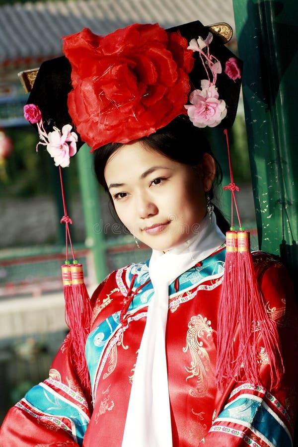 Bellezza classica in Cina. fotografia stock