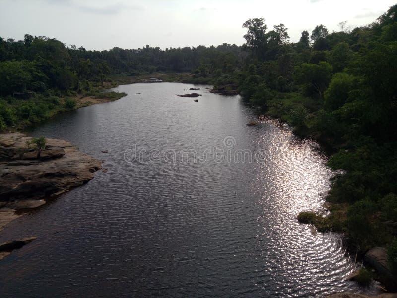 Bellezza del fiume immagini stock