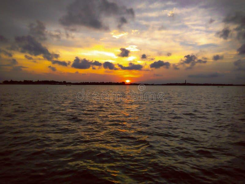 Bellezza del tramonto immagine stock