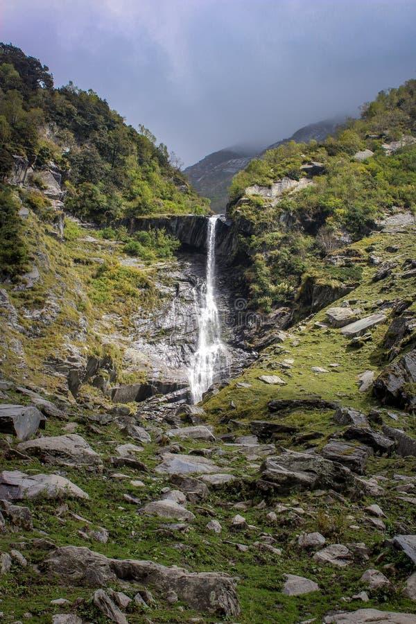 Bellezza della natura di Himachal Pradesh, India fotografie stock libere da diritti