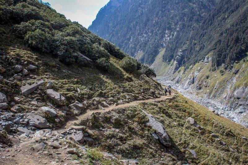 Bellezza della natura di Himachal Pradesh, India immagine stock libera da diritti