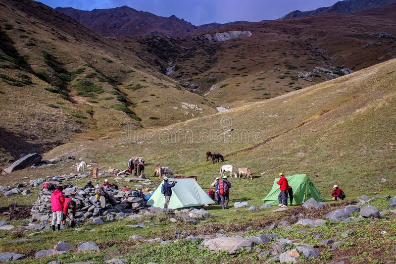 Bellezza della natura di Himachal Pradesh, India fotografia stock libera da diritti