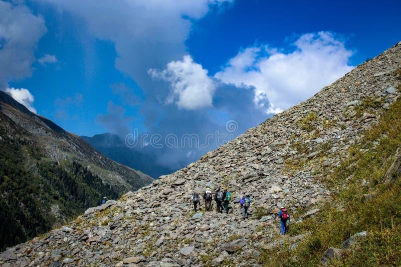 Bellezza della natura di Himachal Pradesh, India fotografia stock
