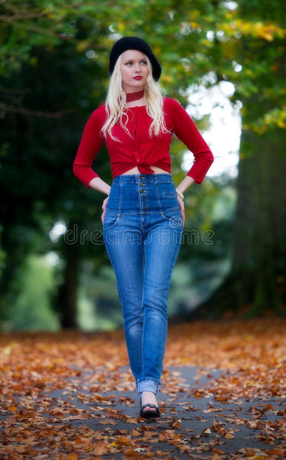 Bellezza di autunno fotografie stock