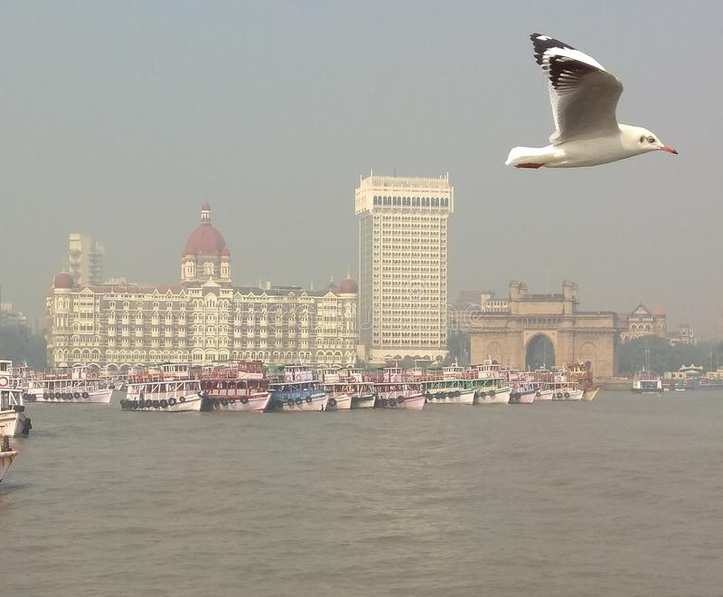 Bellezza di Mumbai fotografia stock