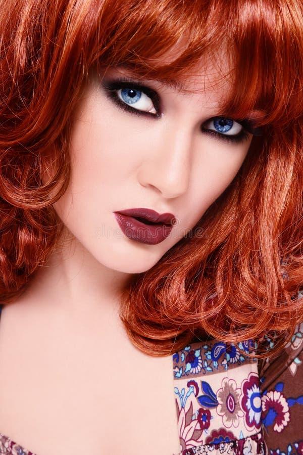 Bellezza di Redhead fotografia stock libera da diritti