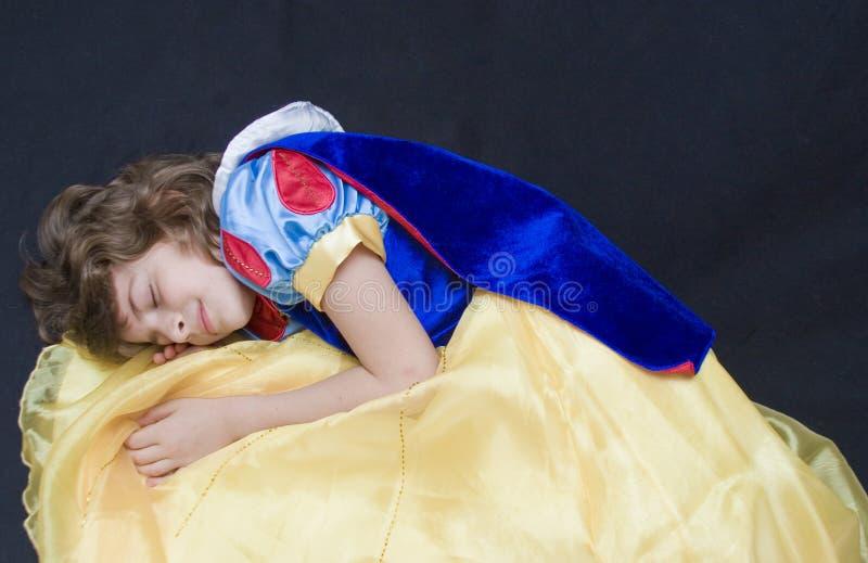 Bellezza di sonno fotografie stock libere da diritti