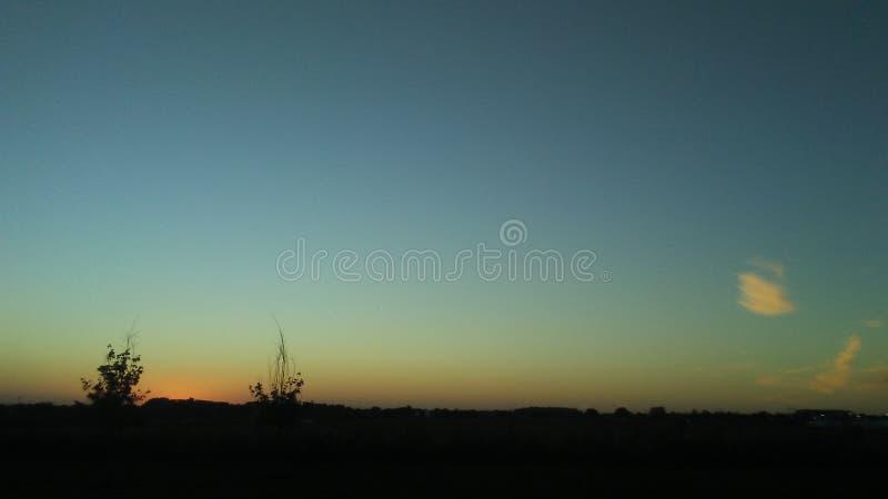 Bellezza di tramonto immagine stock libera da diritti