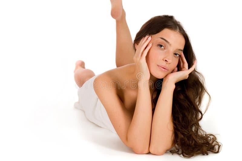 Bellezza e stazione termale immagini stock libere da diritti