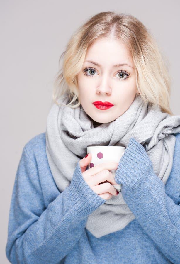 Bellezza fredda del eather fotografia stock