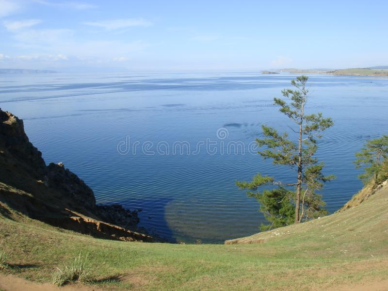 Bellezza incredibile della natura di Baikal immagine stock libera da diritti