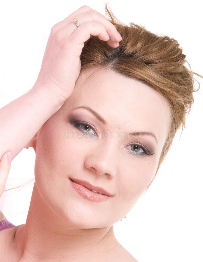 Bellezza matura della donna immagini stock