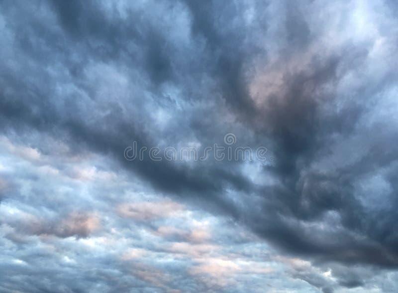 Bellezza meravigliosa del cielo fotografie stock