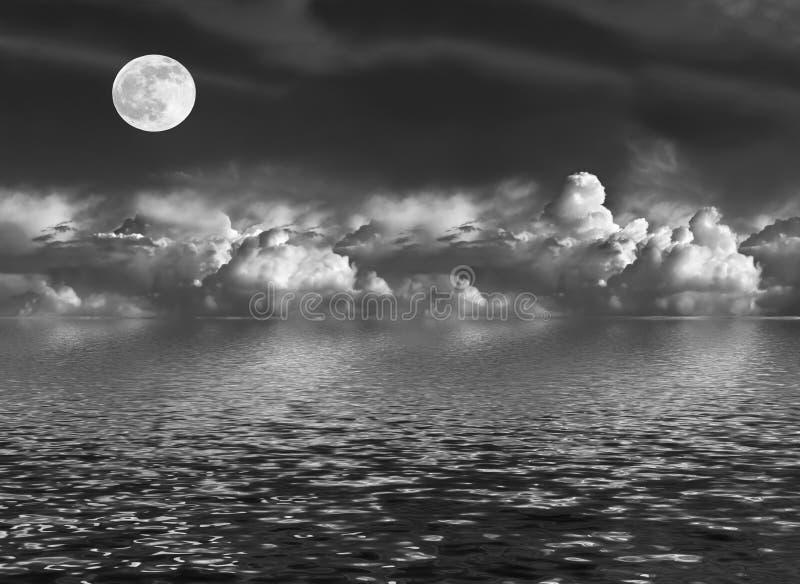 Bellezza Moonlit immagini stock
