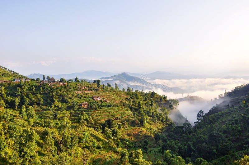 Bellezza naturale del Nepal fotografia stock