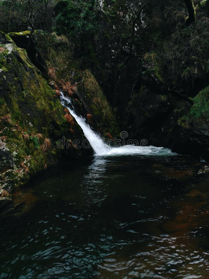 Bellezza naturale delle montagne fotografie stock