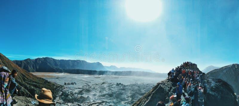 Bellezza naturale di stordimento dell'Indonesia fotografia stock