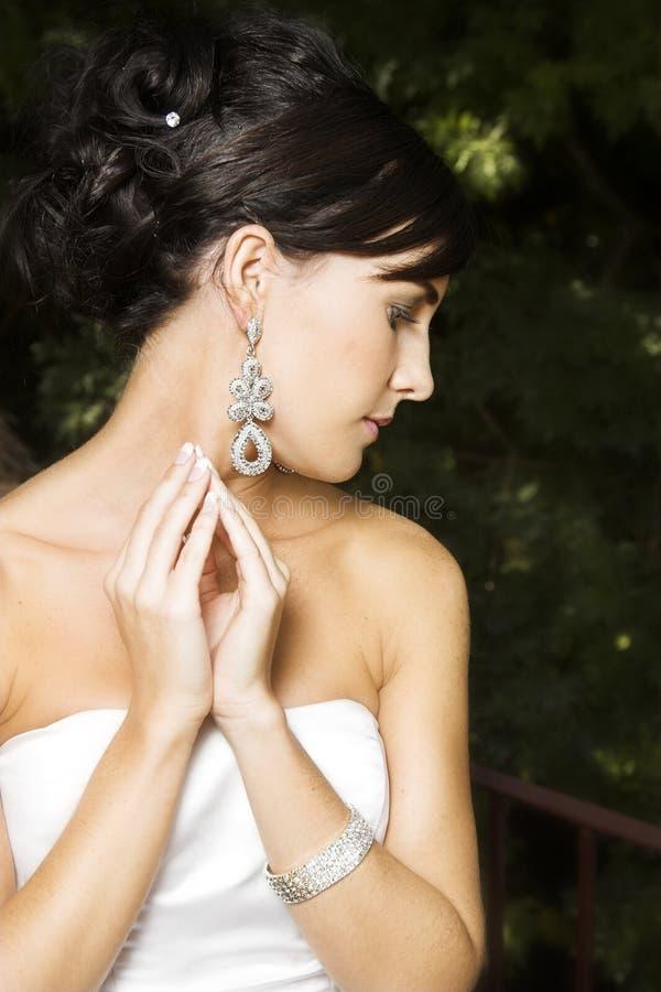 Bellezza nuziale fotografia stock libera da diritti