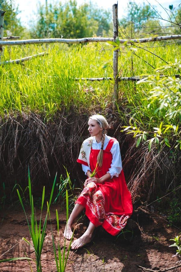 Bellezza russa immagini stock