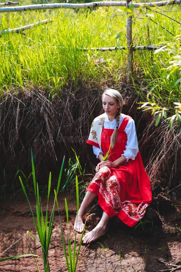 Bellezza russa immagine stock