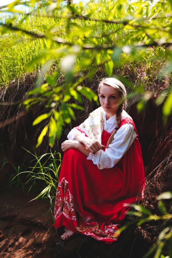 Bellezza russa fotografia stock