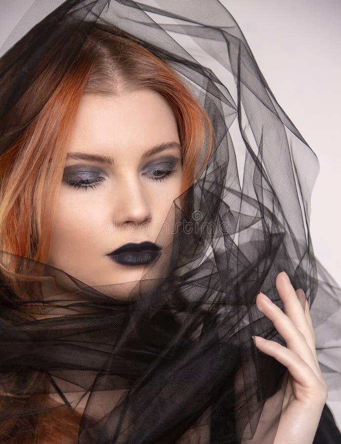 Bellezza sparata del modello fotografie stock libere da diritti