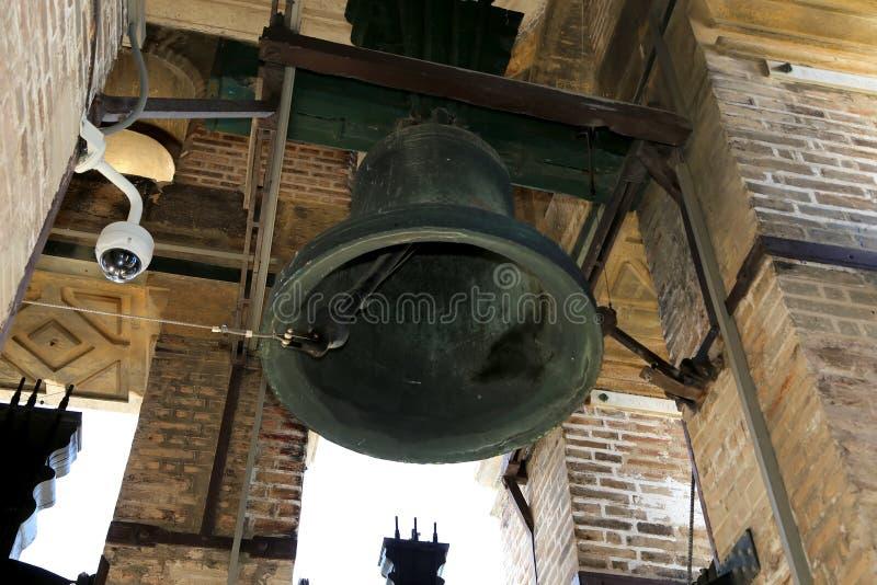 bellicosity Domkyrka av Seville -- Domkyrka av St Mary av se, Andalusia, Spanien arkivfoto