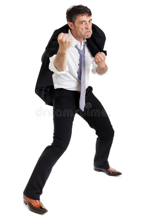 Download Belligerent angry man stock photo. Image of business - 31885290