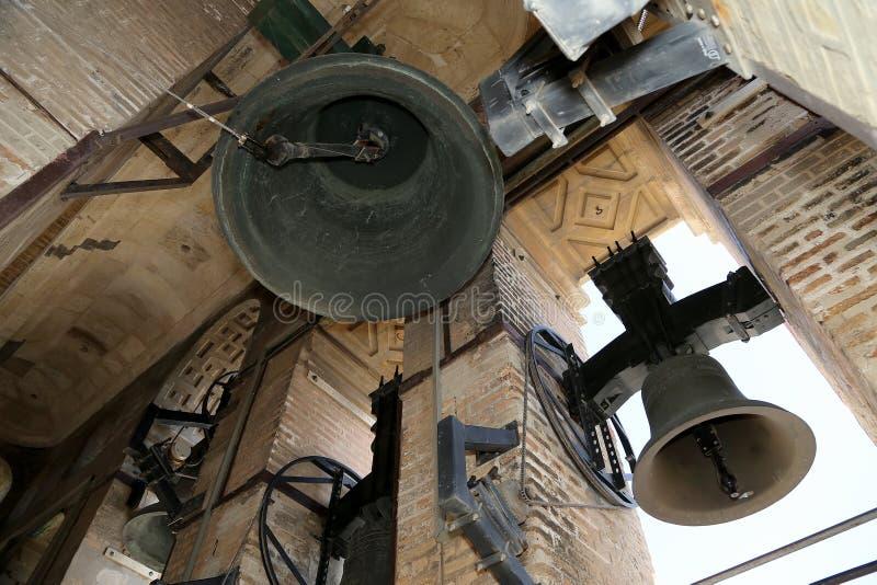 belling Собор Севильи -- Собор St Mary видеть, Андалусии, Испании стоковая фотография