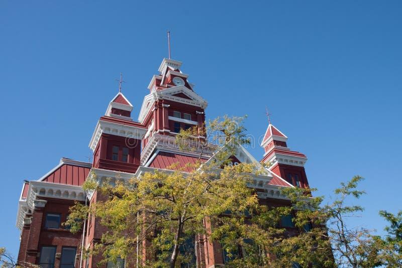 bellingham市政厅 库存图片