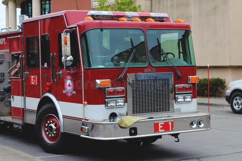 Διαμέρισμα πυρκαγιάς Bellingham: Μηχανή 1 ( 462)  στοκ φωτογραφία με δικαίωμα ελεύθερης χρήσης