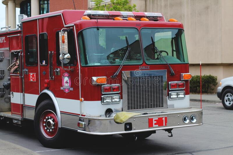 Bellingham Fire Dept: Engine 1 (462) royalty free stock photo
