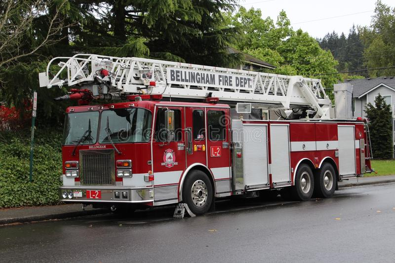 Bellingham Fire: Ladder 2 stock images