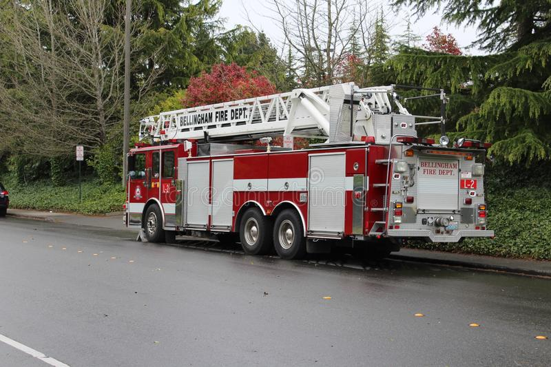 Bellingham Fire: Ladder 2 stock photo
