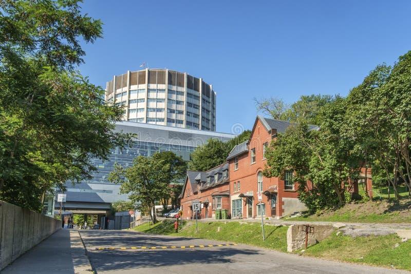 Bellini nauk przyrodniczych Centre, McGill uniwersytet zdjęcia stock