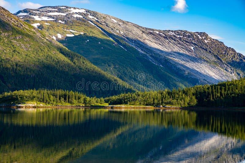 Bellissima natura Norvegia immagini stock libere da diritti
