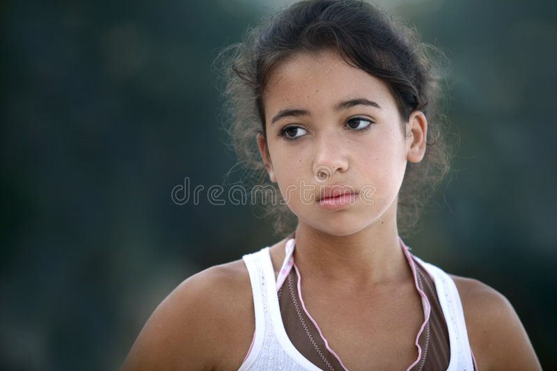 Bello adolescente fotografie stock libere da diritti