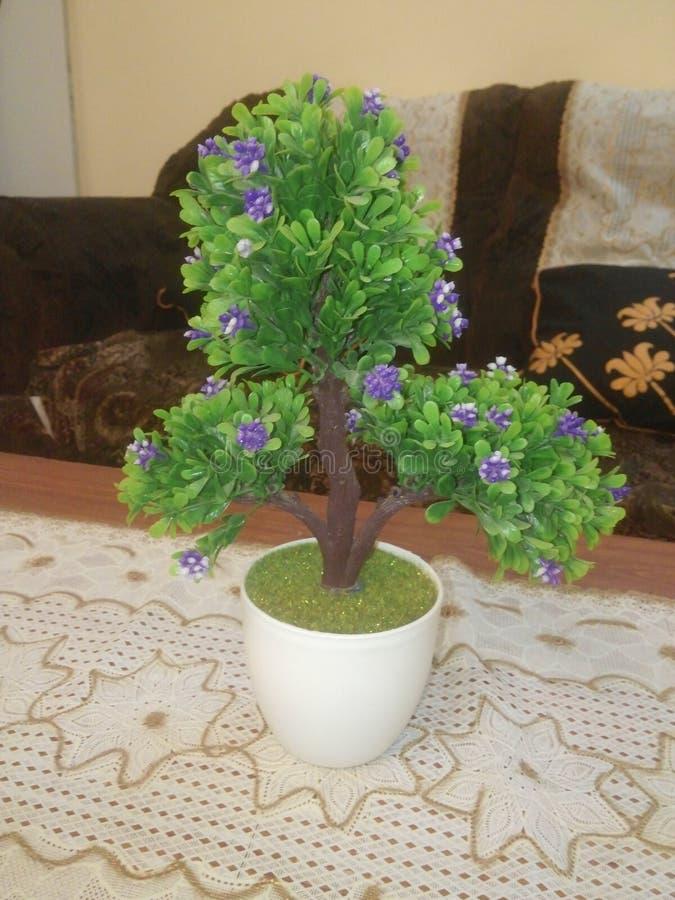 Bello albero artificiale immagini stock