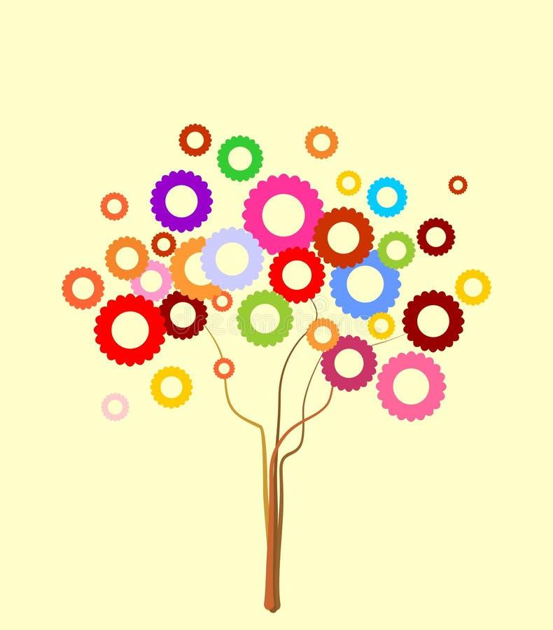 Bello albero di arte royalty illustrazione gratis