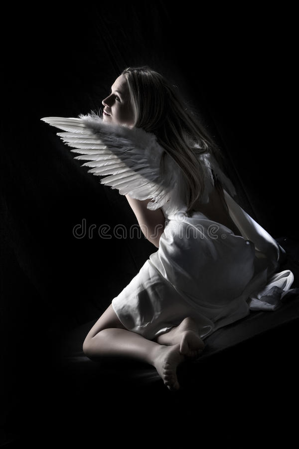 Bello angelo fotografia stock